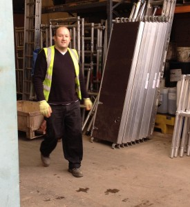 One happy busy builder